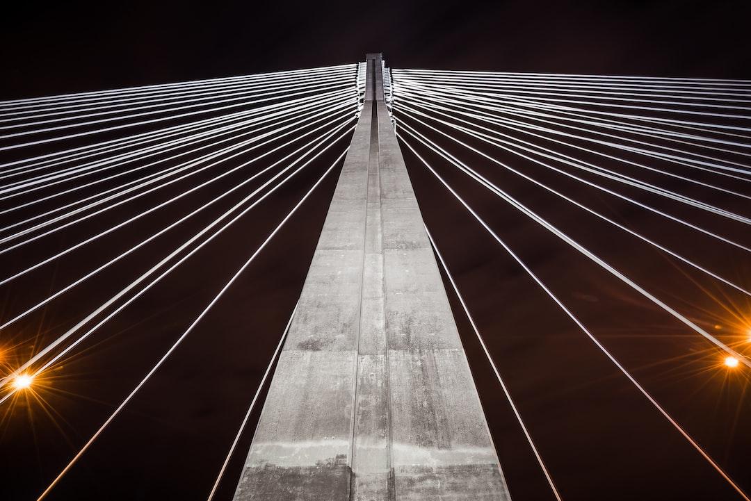 Most Swietokrzyska. Symmetry lines.