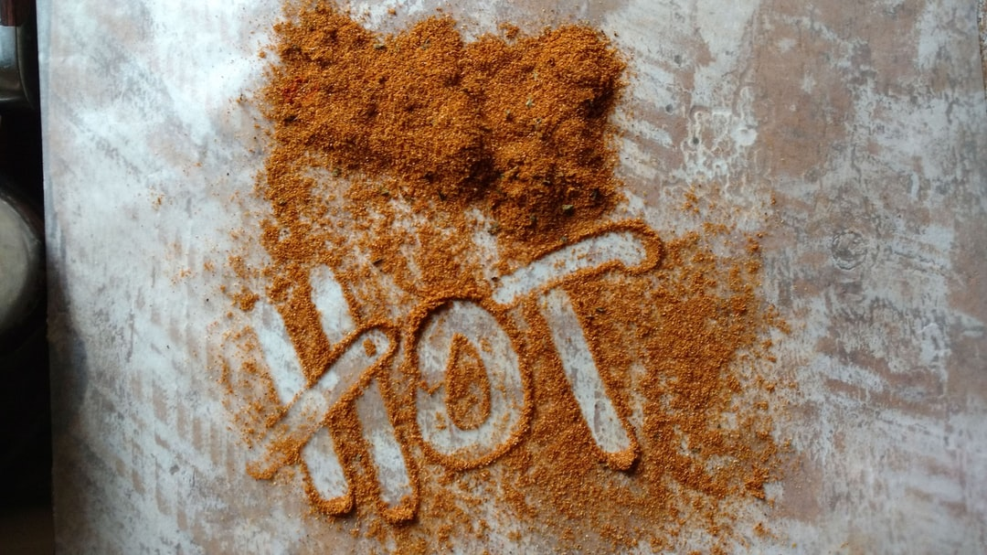 Hot tikka masala spice mix