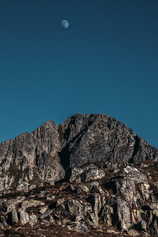 gray mountain during daytime