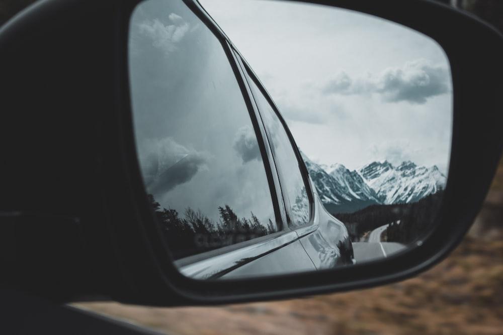 black wing mirror
