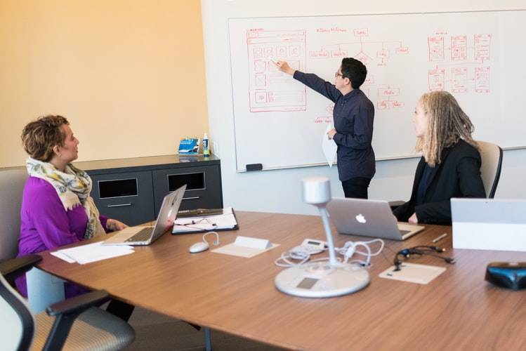 Data analysts clear up and change data, and they also help the team interpret and visualize it.