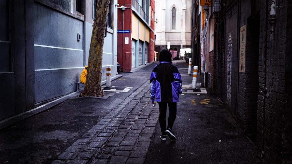 girl standing near wall