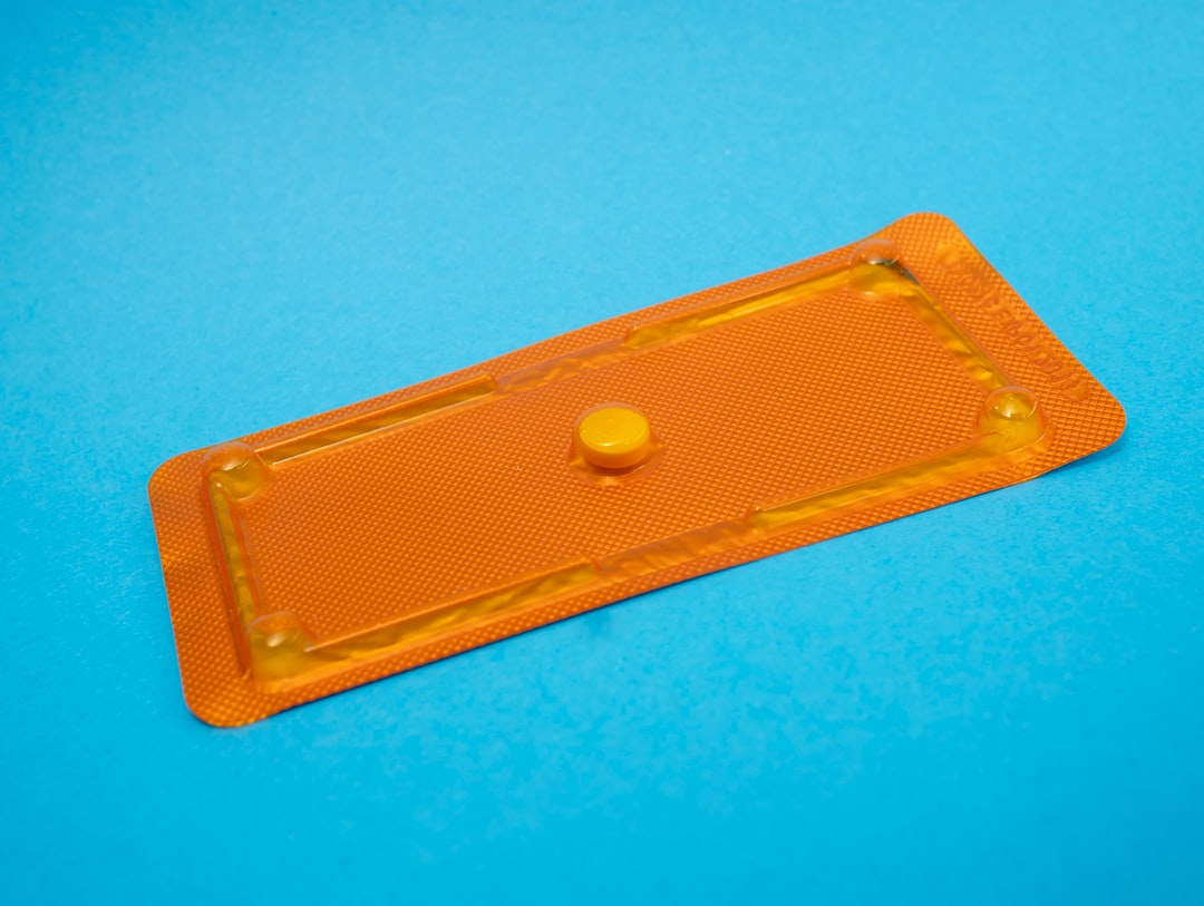 Emergency contraception pill blister