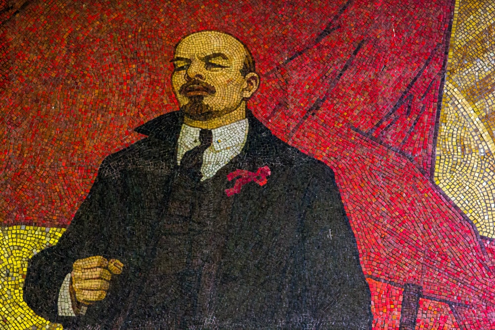 Vladimir Lenin illustration