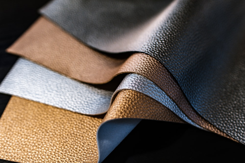 selective-focus of photography of assorted color of leather
