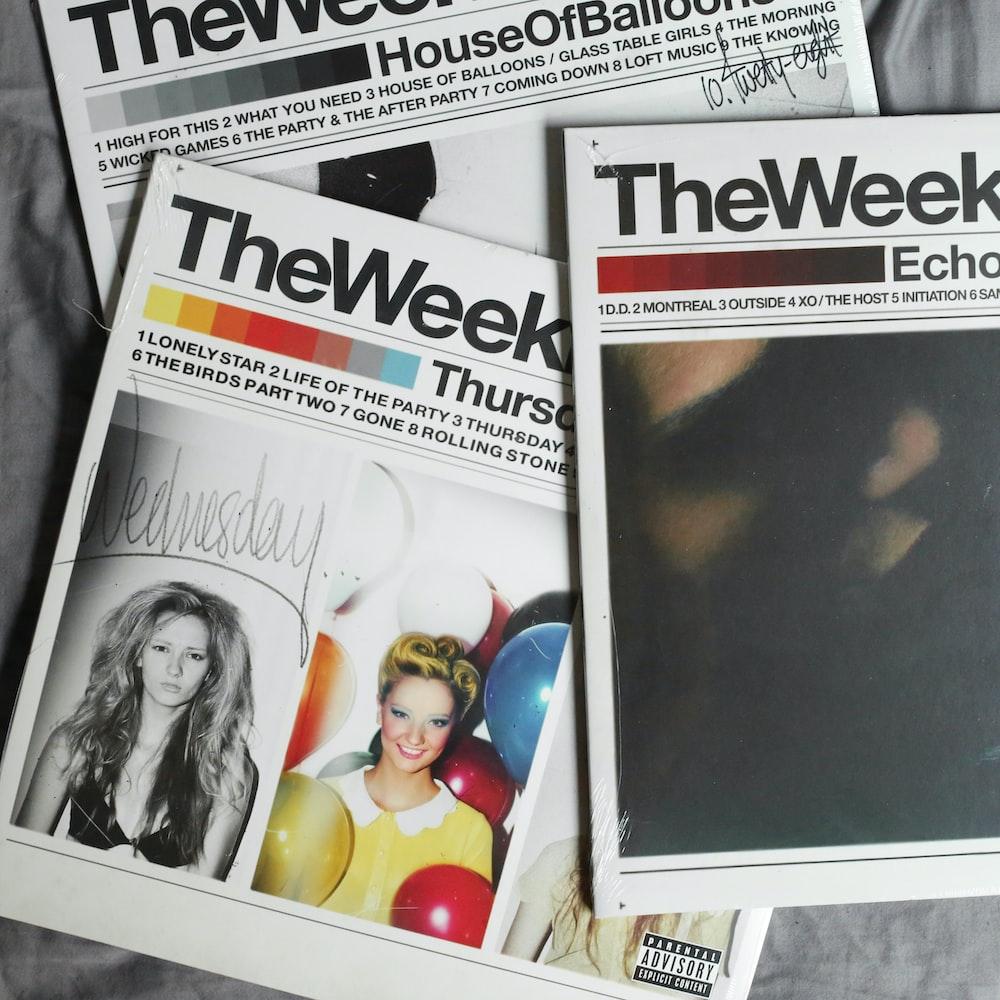 The Week magazines
