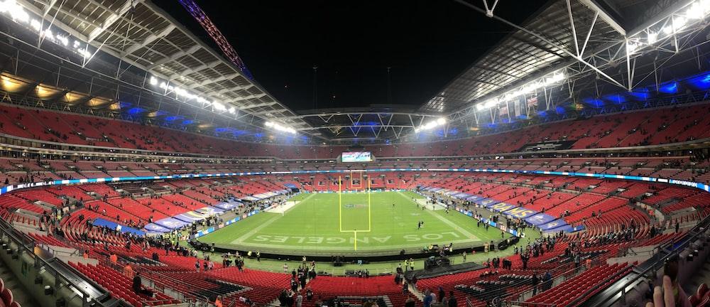 people inside stadium