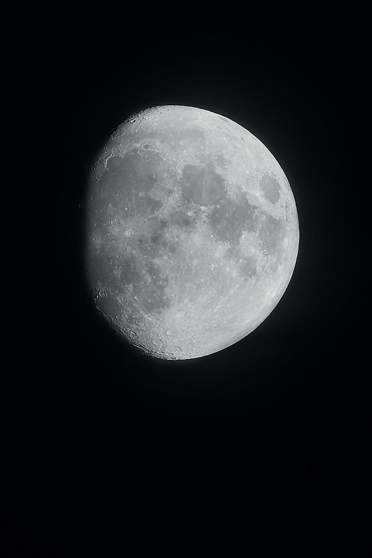 Waxing Gibious moon