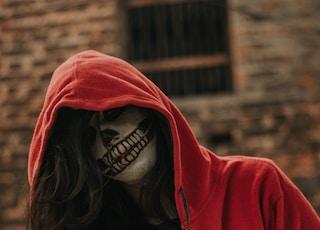 woman in black hoodie