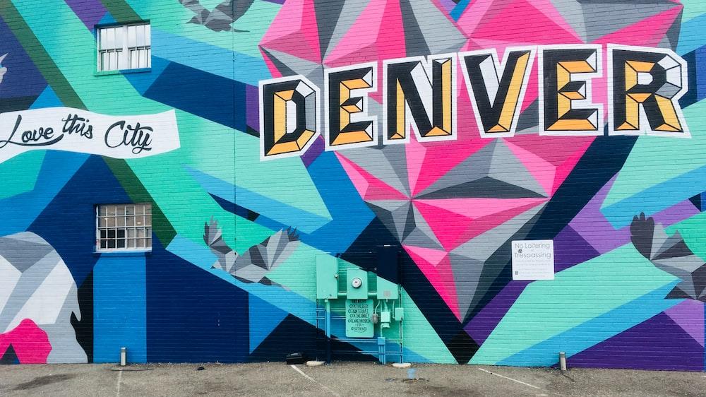 Denver street artowrk