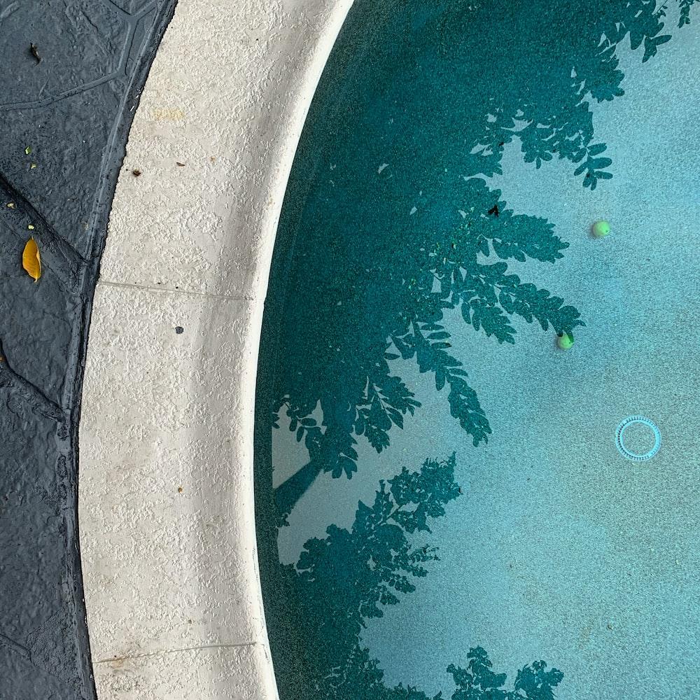 aerial vie wof outdoor pool