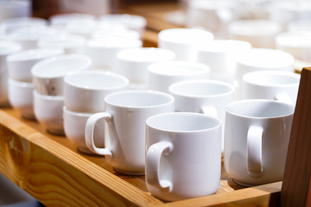 white mug lot