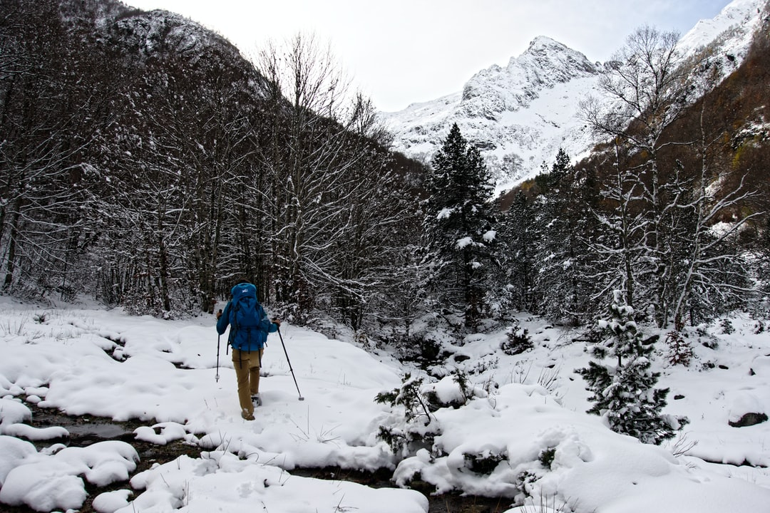 First snow in the Pyrénées