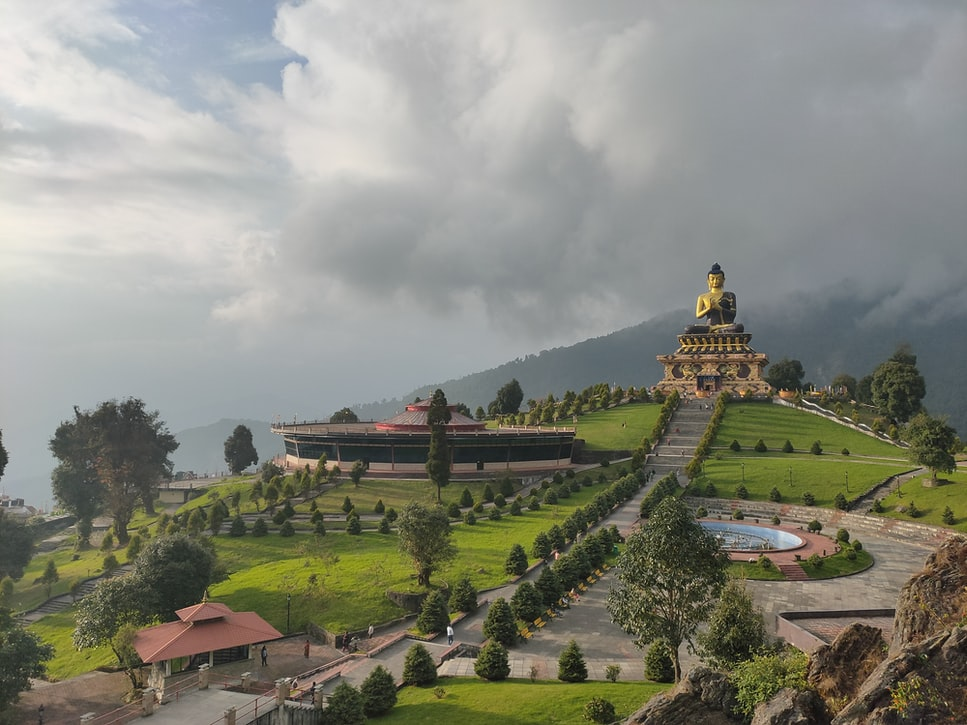 Buddha Park, Ravangla, Sikkim, India Sikkim itinerary for 7 days