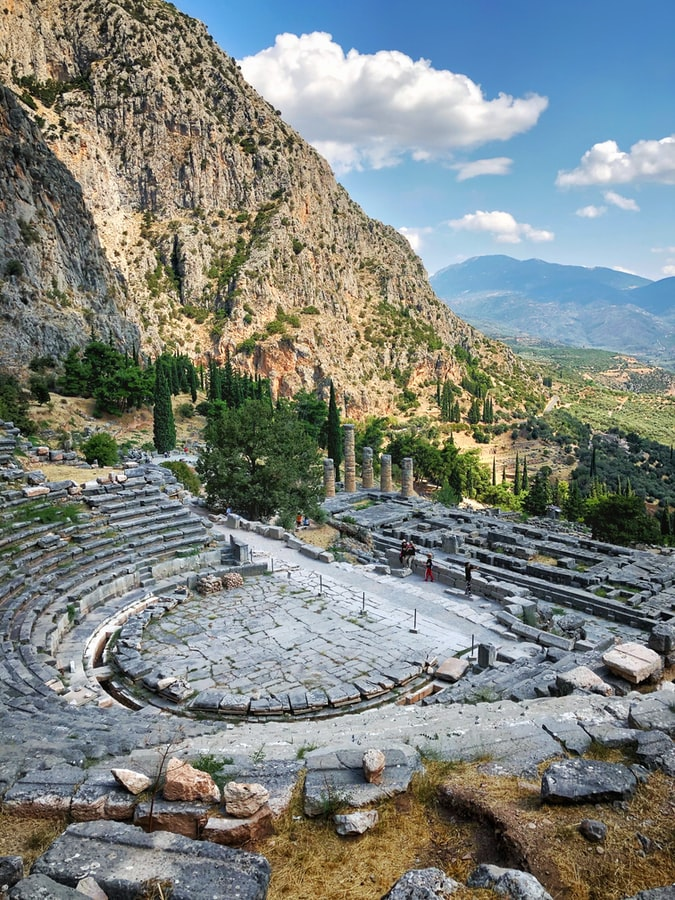 Delphi Ruins, Best Things to do in Greece