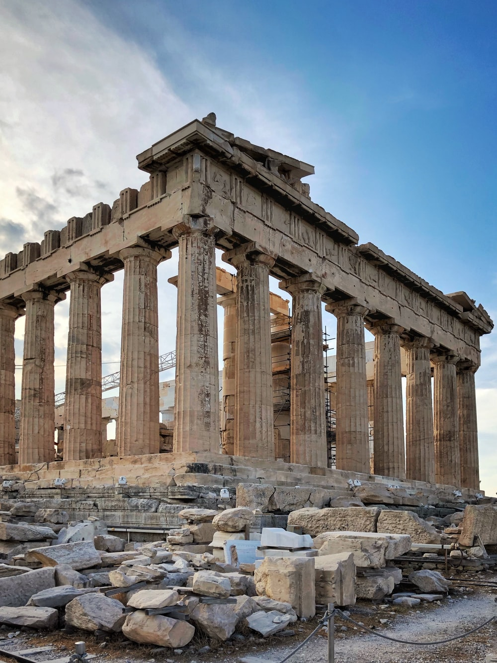 Temple of Athens, Greece