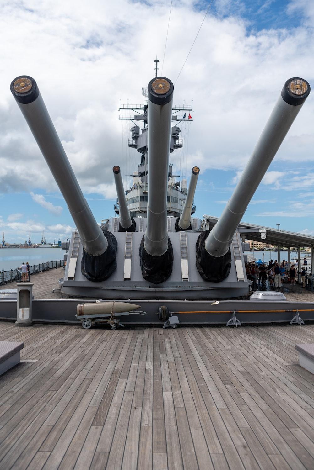 white battleship