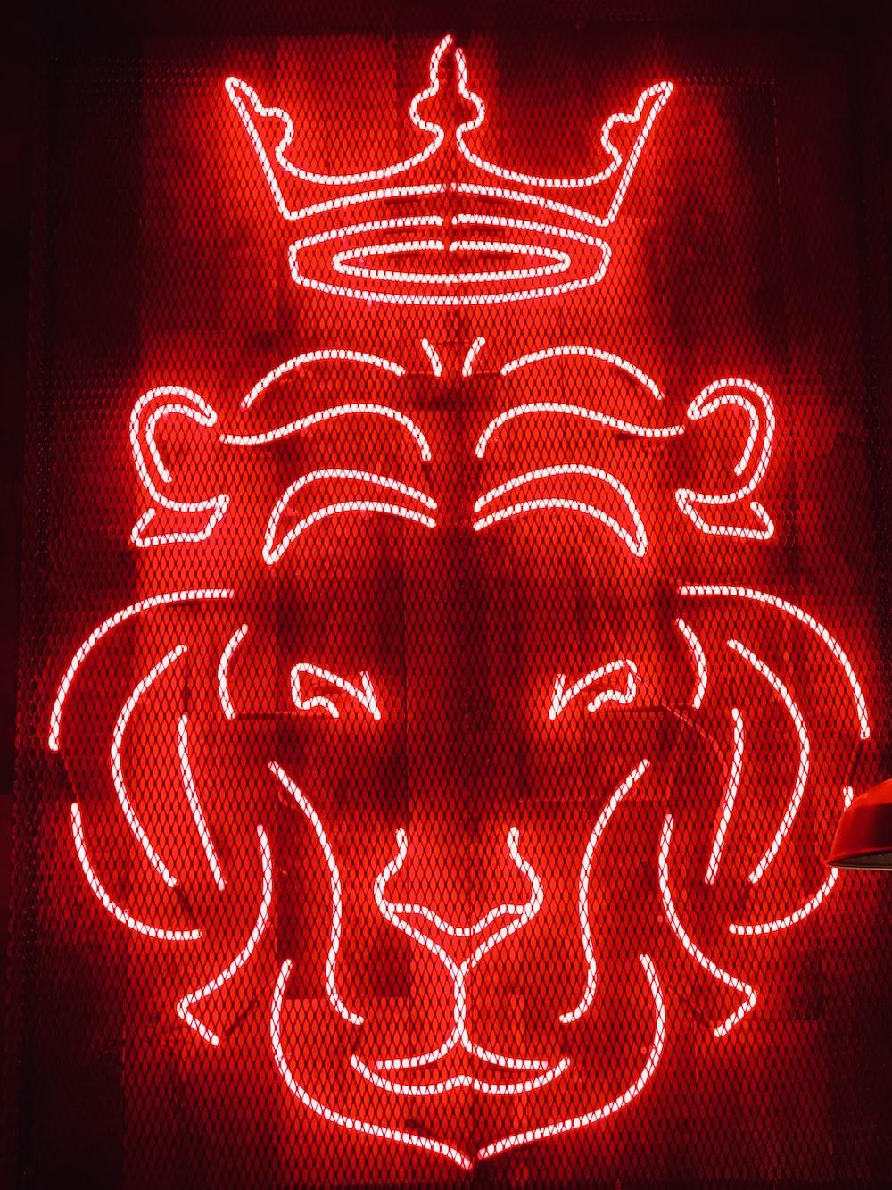 lion neon sigange
