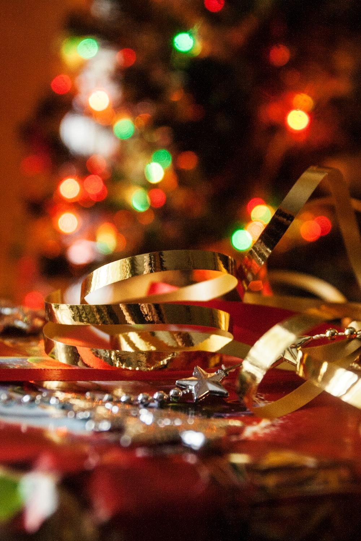 brass Christmas ornament