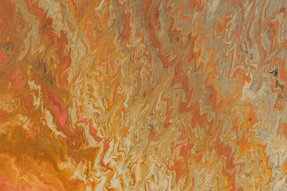 brown and red abstract painting