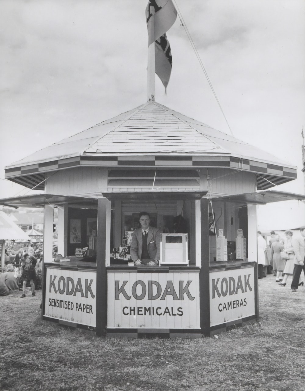 Kodak Chemicals shed