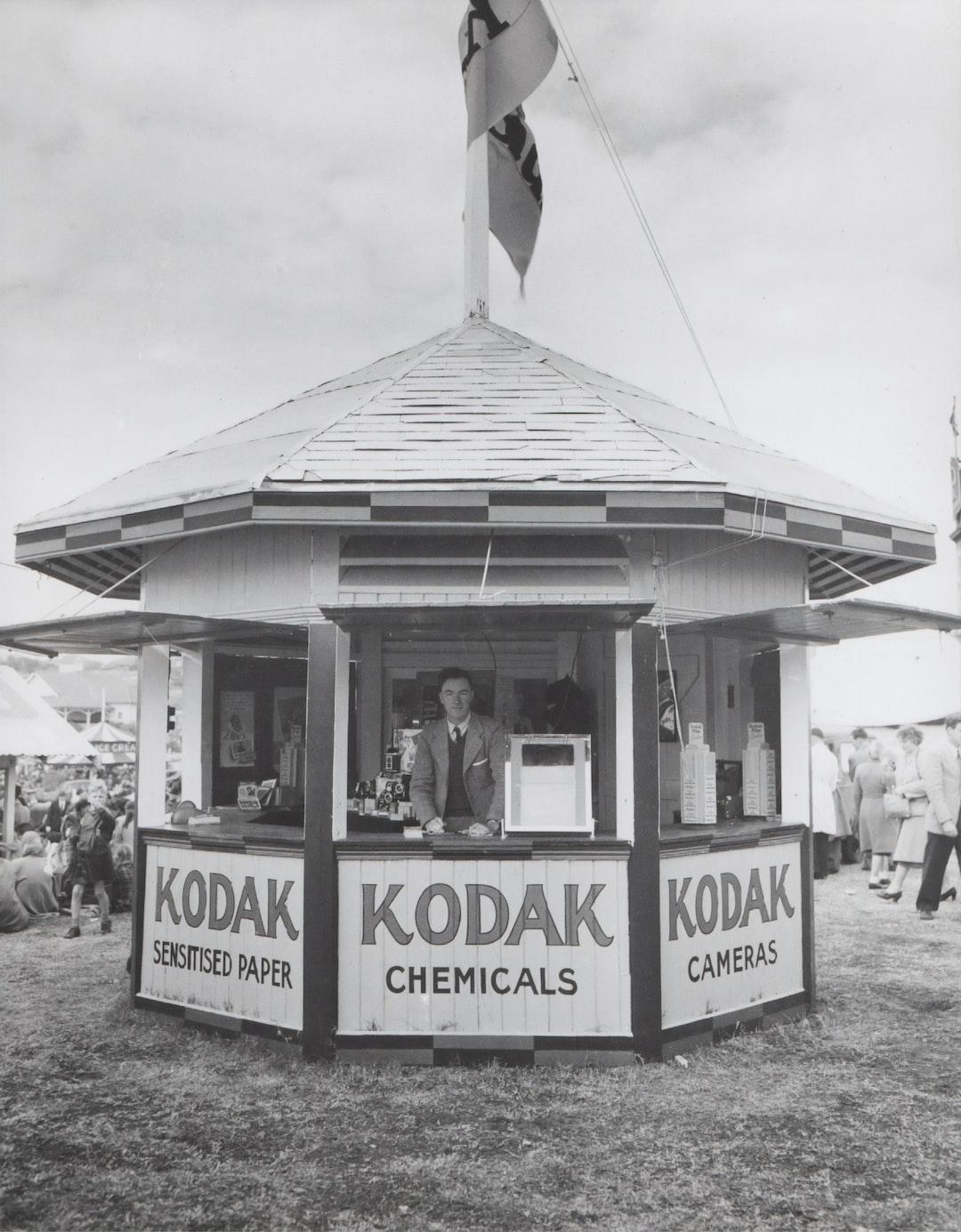 Kodak Australasia Pty Ltd, Booth in Exhibition Grounds, circa 1930s