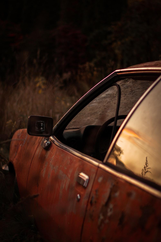 car on park