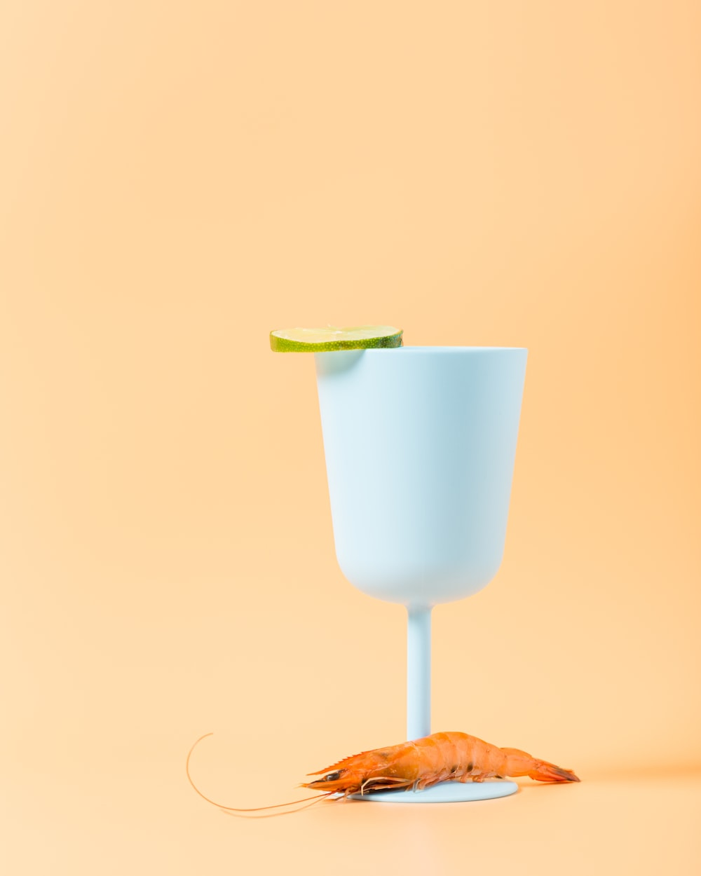 shrimp on cup