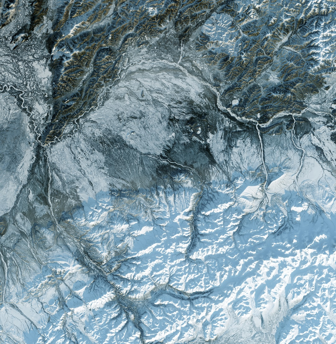 Satellite imagery of the North Pole