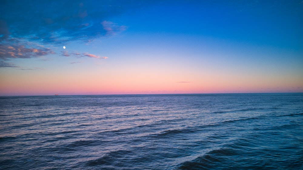 blue ocean scenery