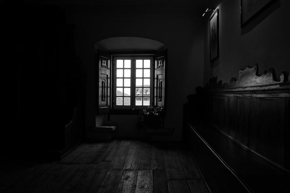 opened window panel