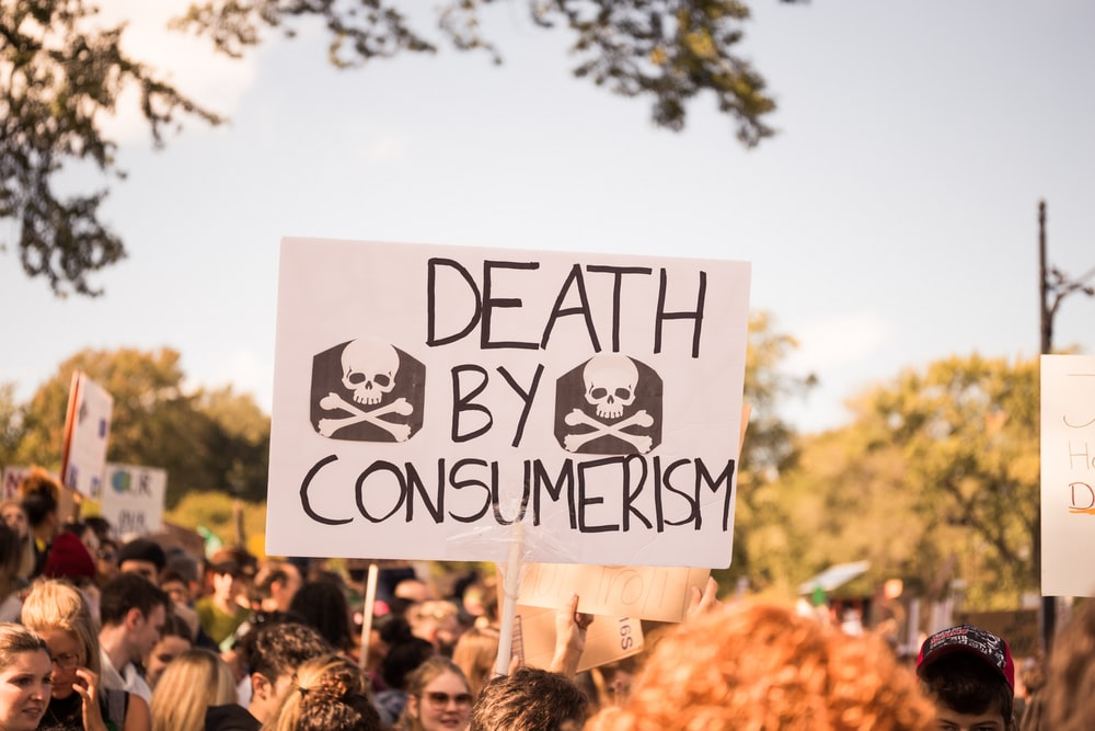 people protesting photograph