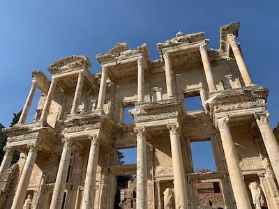 gray ruins during daytime
