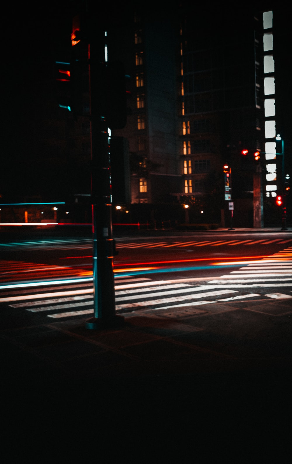time-lapse photography of cars on road at nighttime
