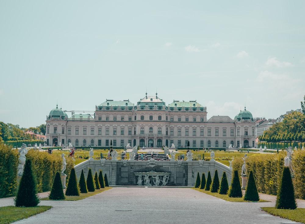 white palace during daytime