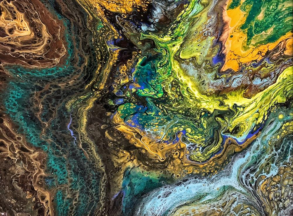 multicolored colors