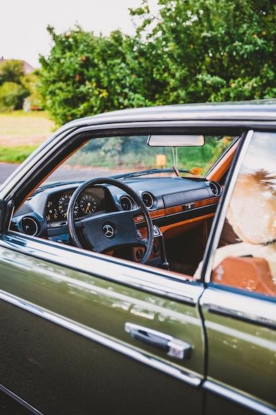 Vintage German Design Car Engineering – Oldtimer Mercedes Daimler Benz. Mercedes Benz W123 280 CE Coupe