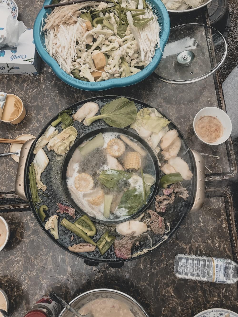vegetable dish in pot