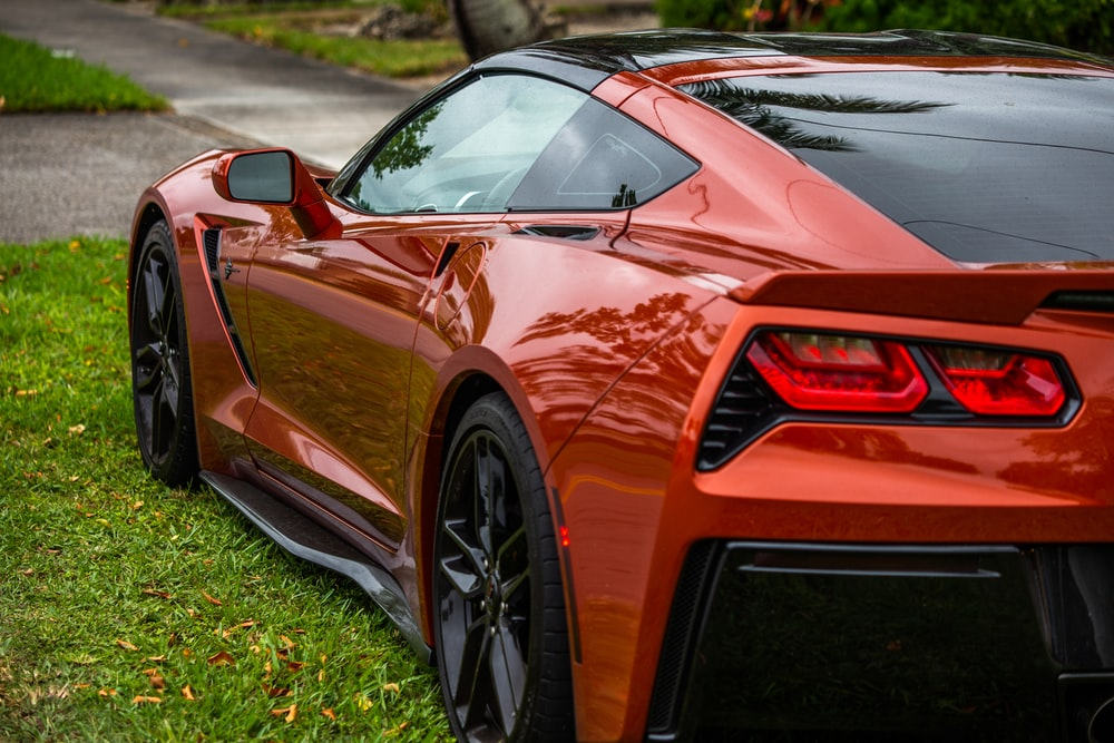 red coupe