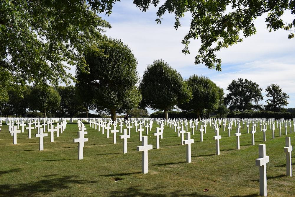 cross tombstone lot