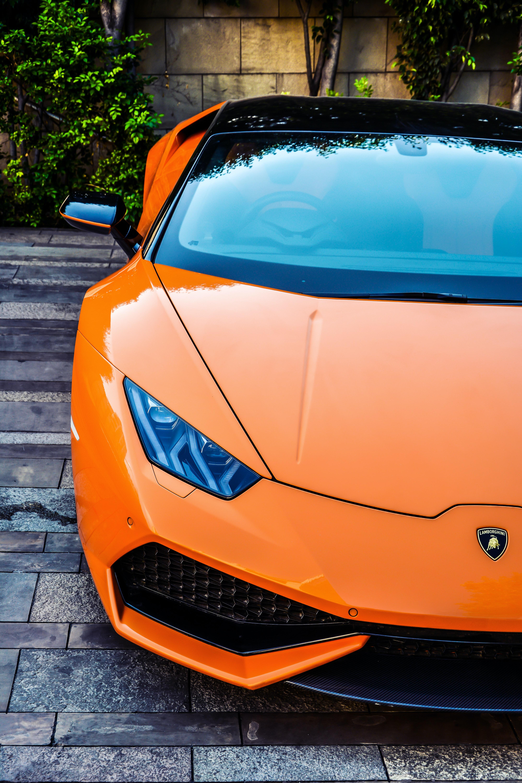 Orange Lamborghini Aventador Photo Free Car Image On Unsplash