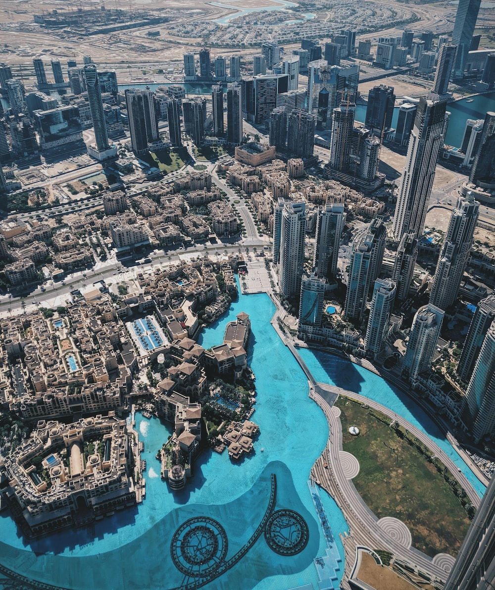 aerial photography of Dubai City during daytime