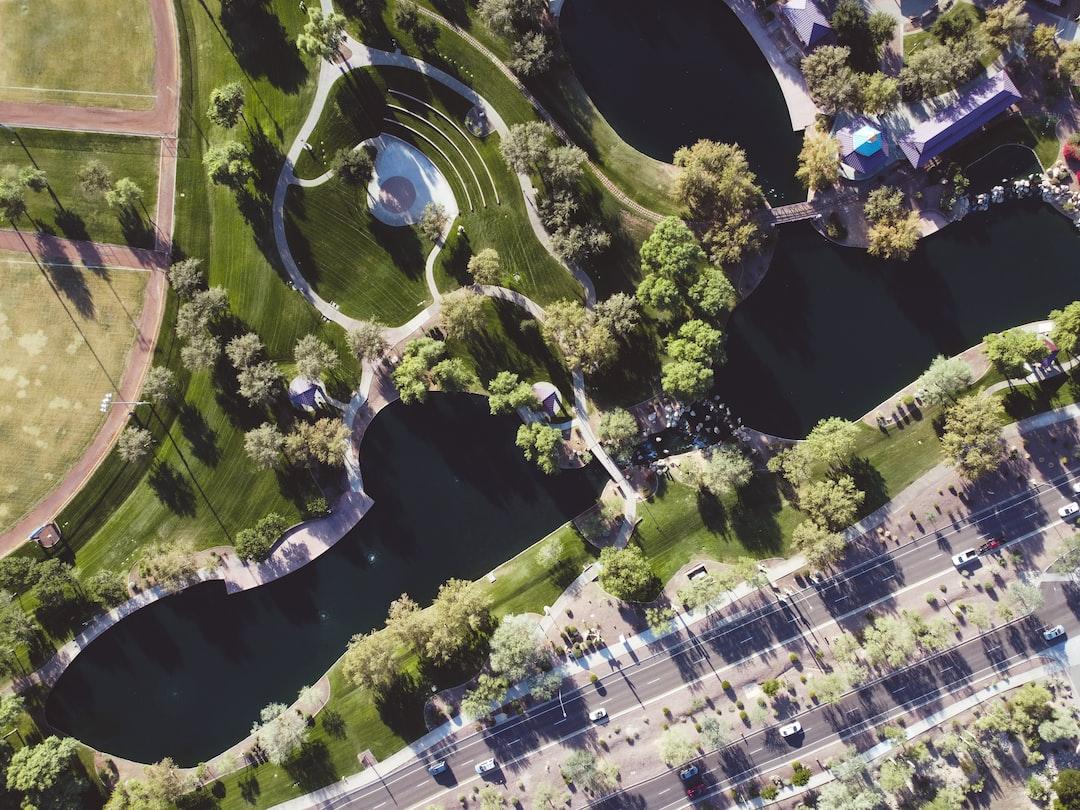 Aerial park in Anthem, Arizona.
