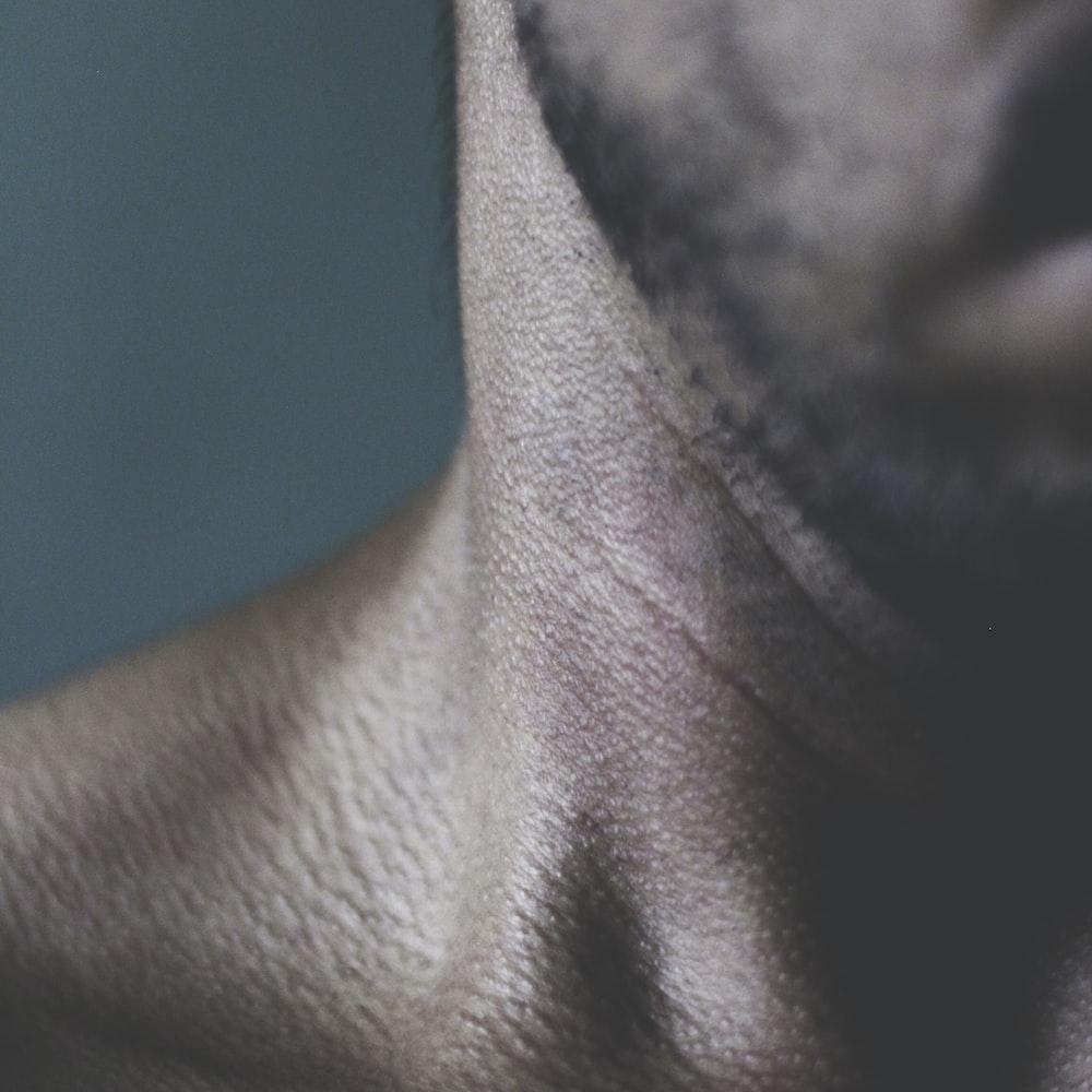 person's neck