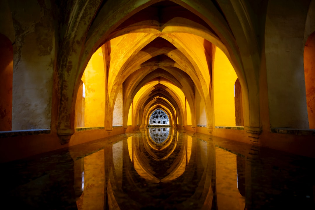 Baths of María Padilla in the Real Alcazar Palace in Seville