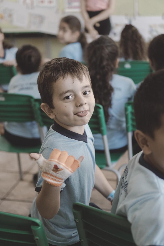 children inside classroom