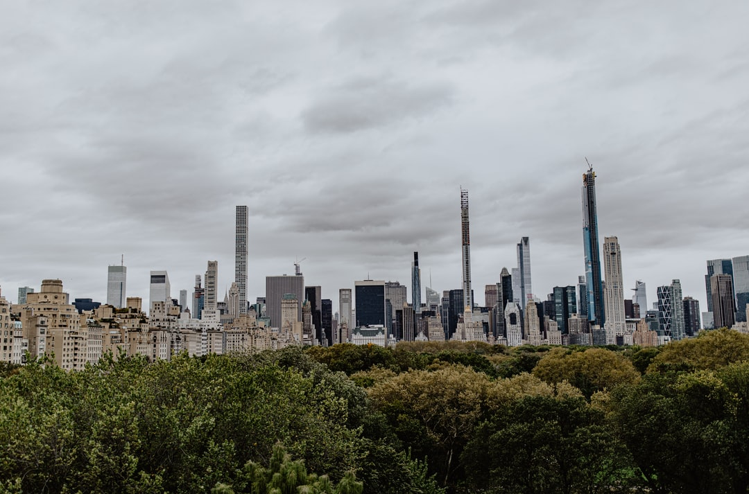 From the top of the MET NYC