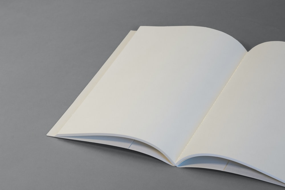 open notebook page