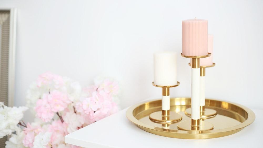 brass candle stick holder