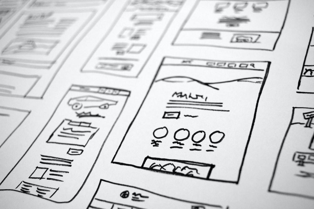 Website layout doodles.